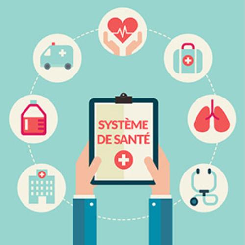 Le système de santé en question